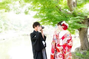 福井県から彦根に結婚写真を撮影しに来てくださったカップルのご紹介
