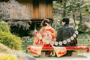 福井から3時間で撮影可能!お客様の思い出の小物と撮影in神戸
