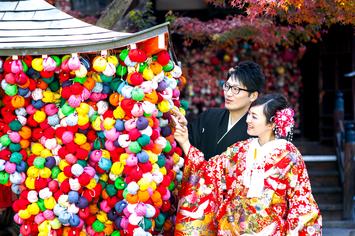 [和装ロケーションプラン]福井県から結婚の前撮りで京都へ