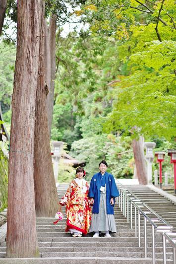 [和装ロケーションプラン]京都で秋の前撮り