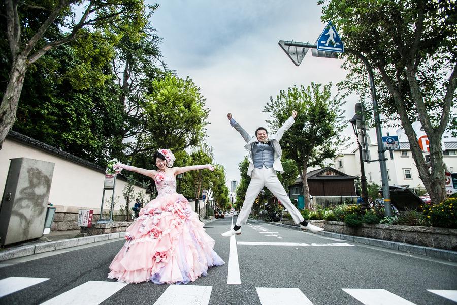 神戸北野でロケーション撮影