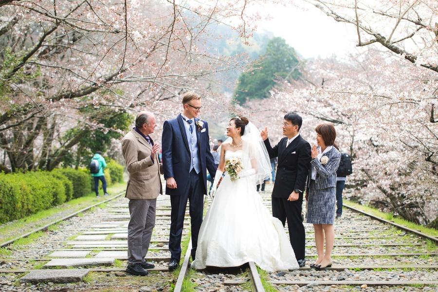 京都インクラインの桜