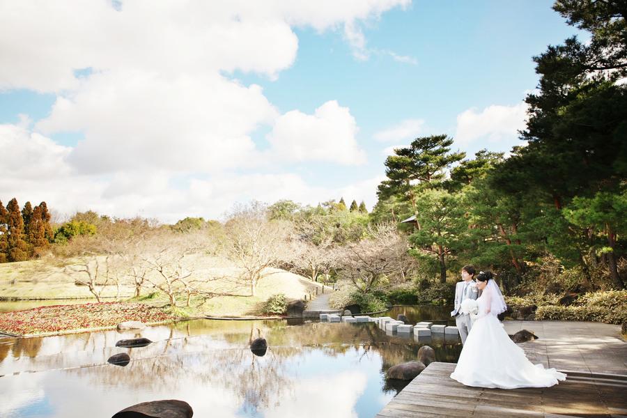 京都梅小路公園朱雀の庭