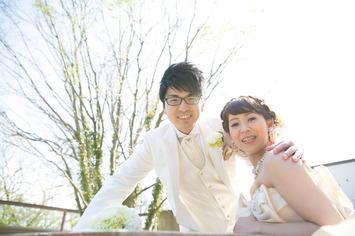 福井県にお住いの方 邸宅館内でウェディングドレスでフォトウェディング