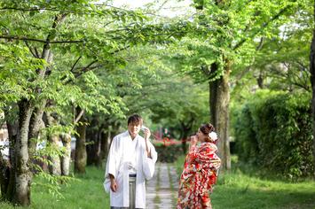 [京都]新緑シーズンの結婚前撮りが人気