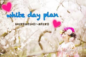 [2018年3月10日から3月18日京都限定]ホワイトデープラン